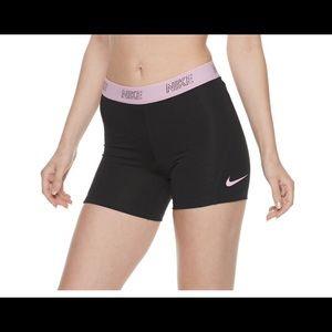 Women's Nike Training Mid-Rise Base Layer Shorts